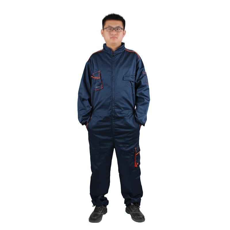 代尔塔405411 M6COM藏青色连体服