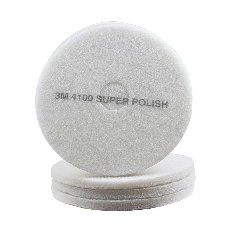 3M 4100白色抛光垫20英寸
