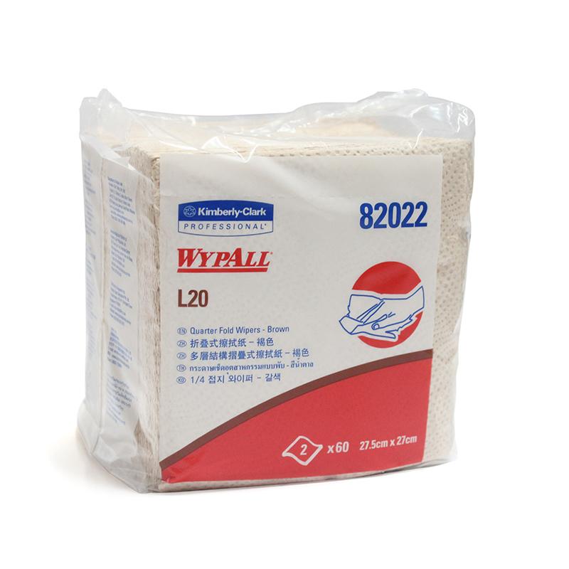 KIMBERLY-CLARK/金佰利 82022 WYPALL* L20工业擦拭纸(折叠式)