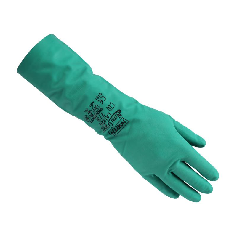 HONEYWELL霍尼韦尔 LA132G-7无衬丁腈耐油脂防化手套
