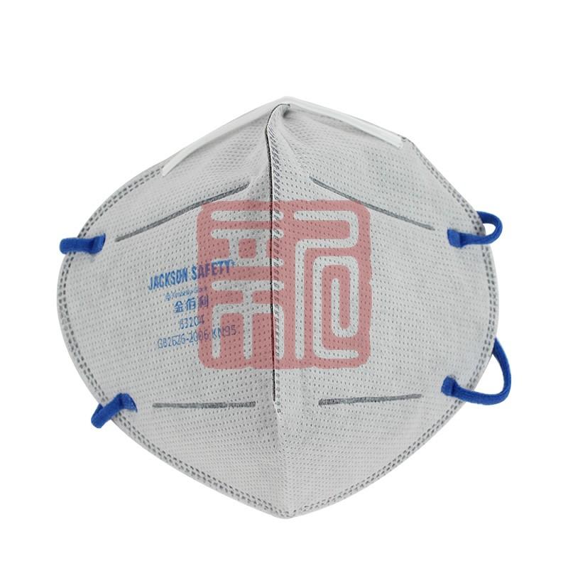 金佰利63204 KN95活性炭层带搭扣口罩封面