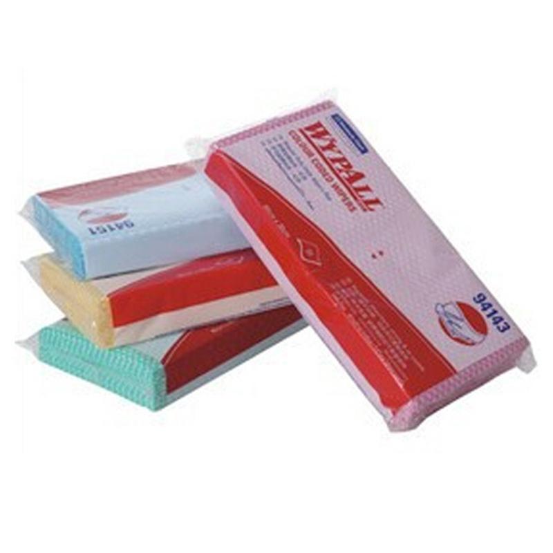 金佰利 94144WYPALL* 标准型彩色清洁擦拭布(黄色)