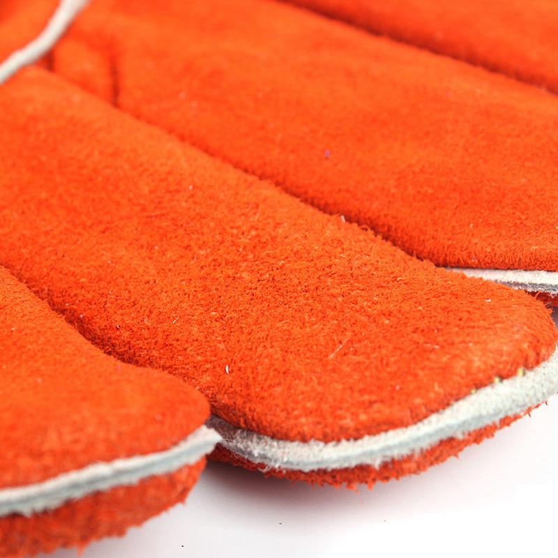 威特仕 10-0100-XL 锈橙色斜拇指款烧焊手套
