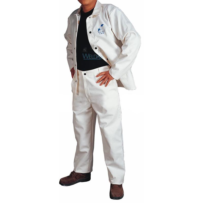 威特仕C33-9900 白色工作裤