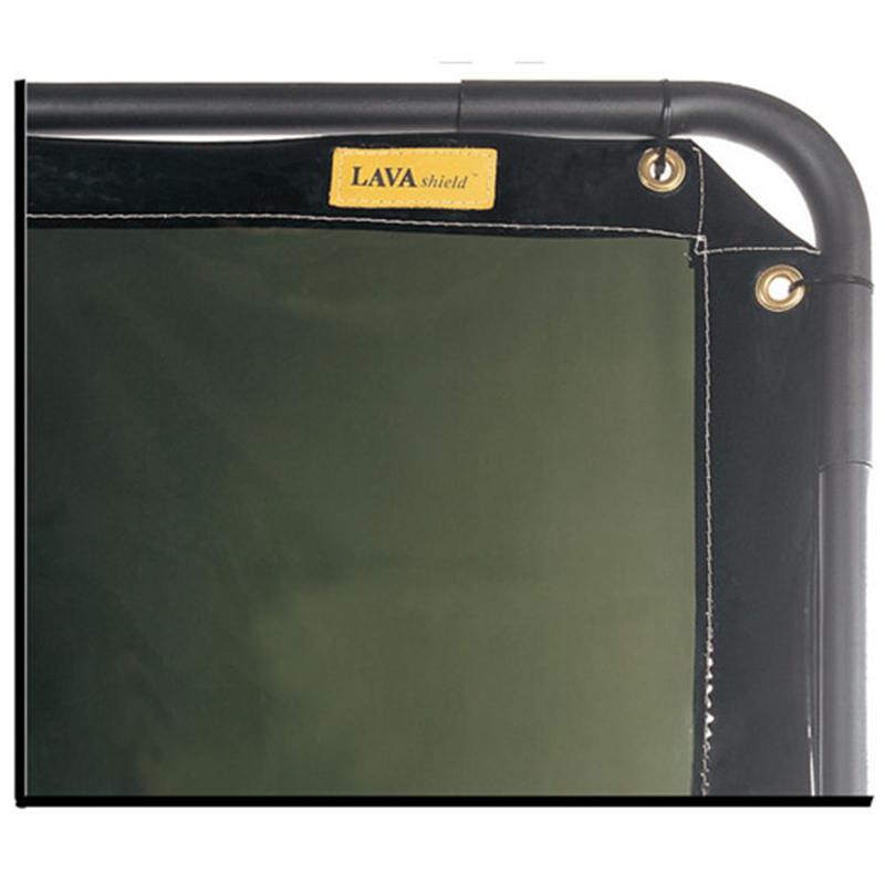 威特仕55-7468熔岩盾墨绿色防护屏