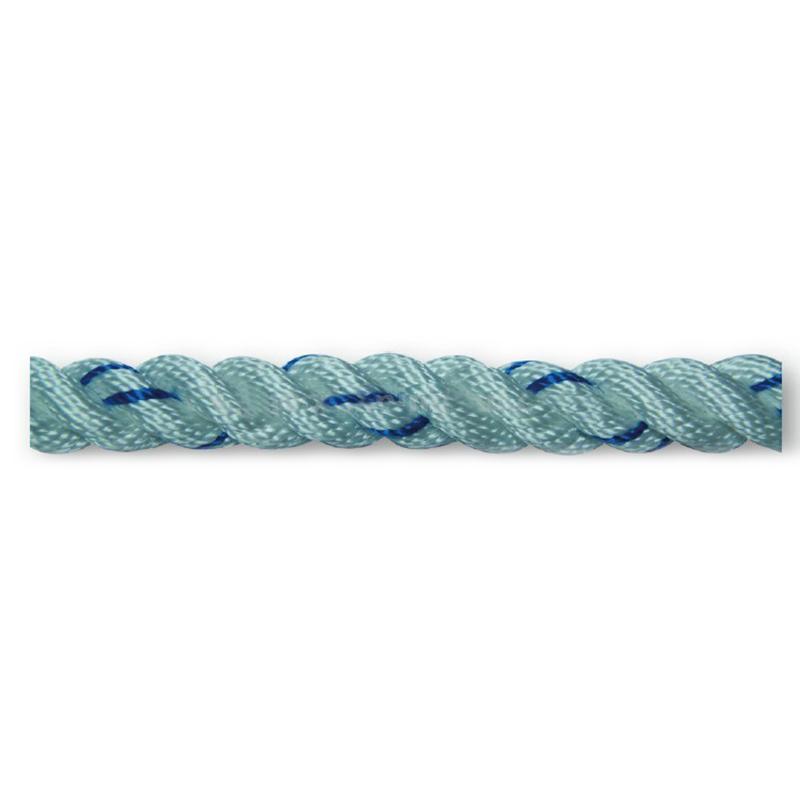 建钢安全绳(5米)16mm丙纶三股绳双大钩