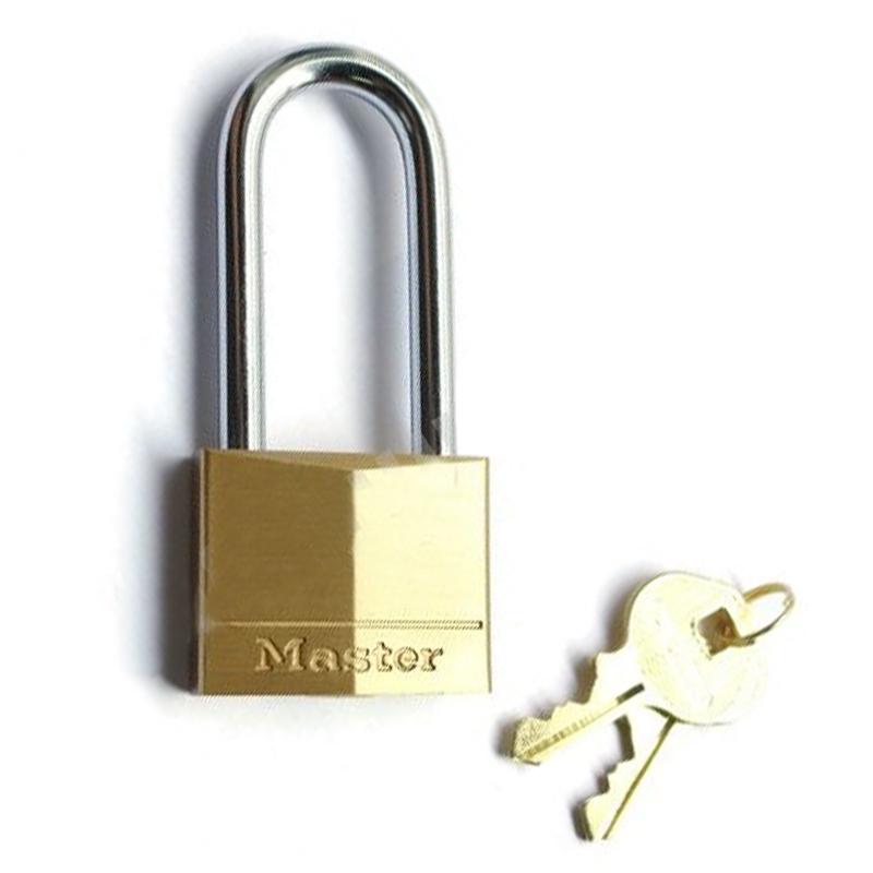 玛斯特 140MCNDLH 经典钻石形铜挂锁(黄铜色)