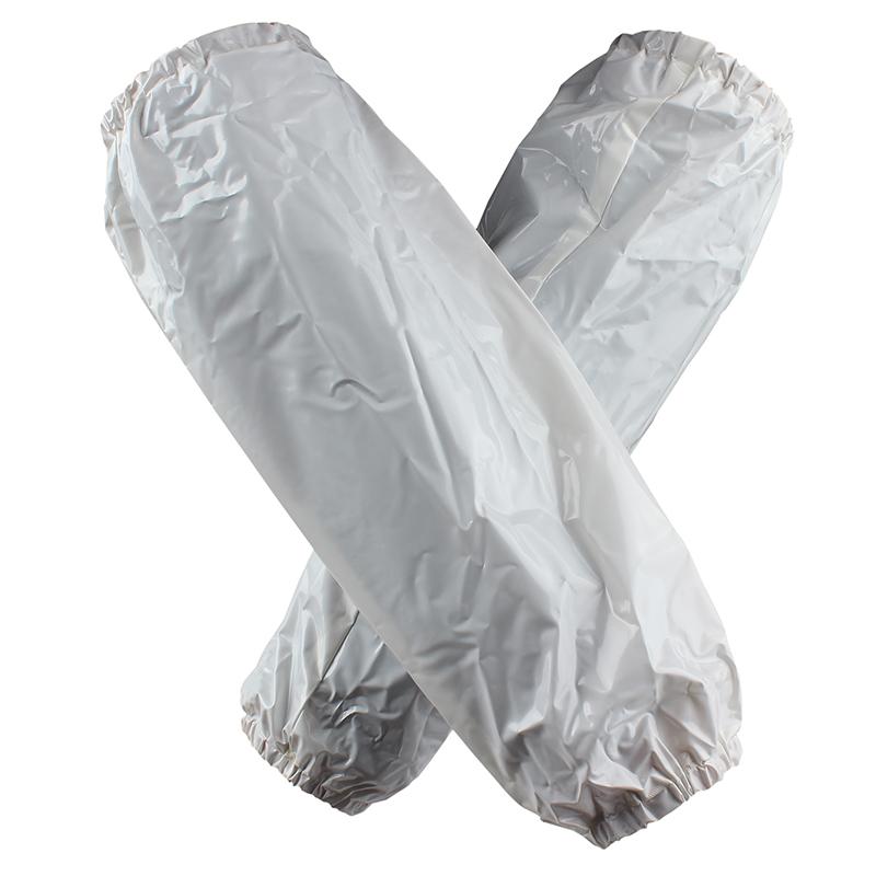 B白PVC耐油套袖