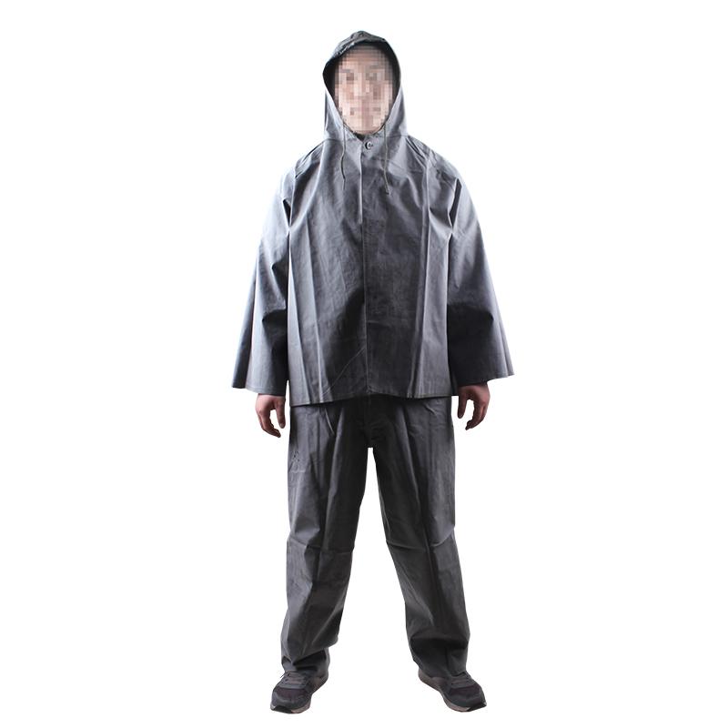 鲁龙3520套装雨衣小号
