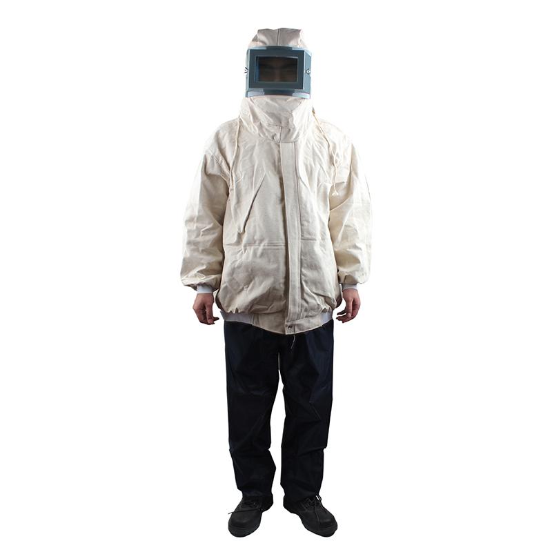 上海花护 HH1098-1帆布平框防砂衣