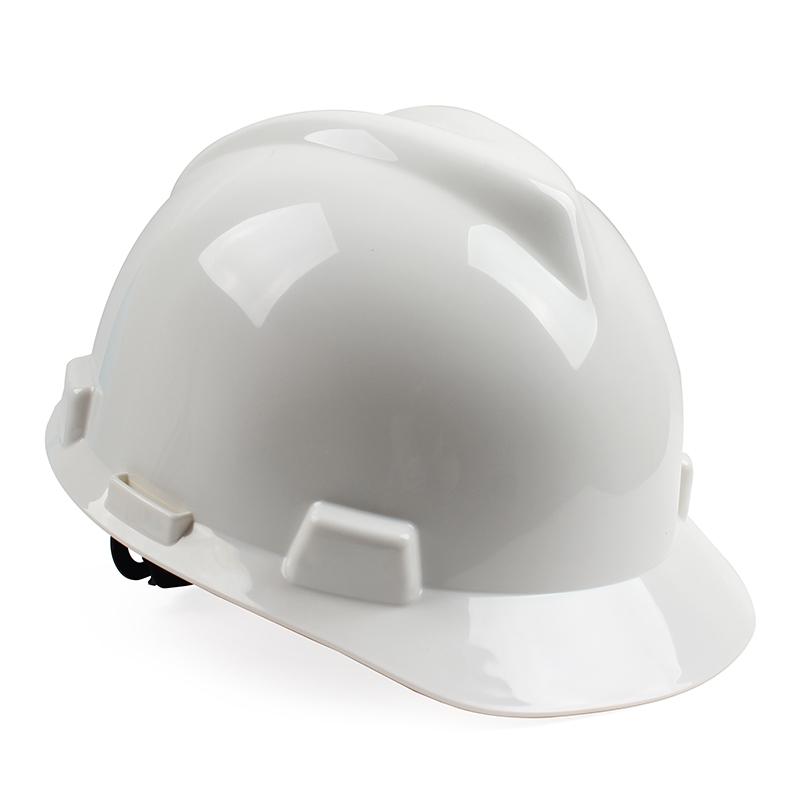 MSA梅思安 10172901 V-GardPE标准型安全帽 PE帽壳 超爱戴帽衬针织布吸汗带 D型下颏带