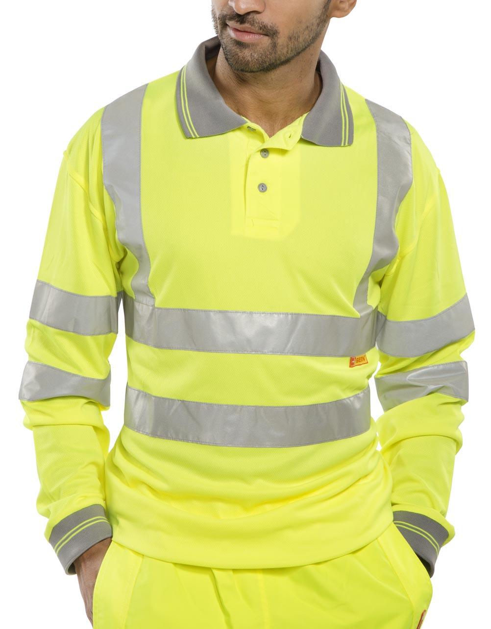 Bodyguard Workwear GN670 BodyguardWorkwear长袖POLO衫