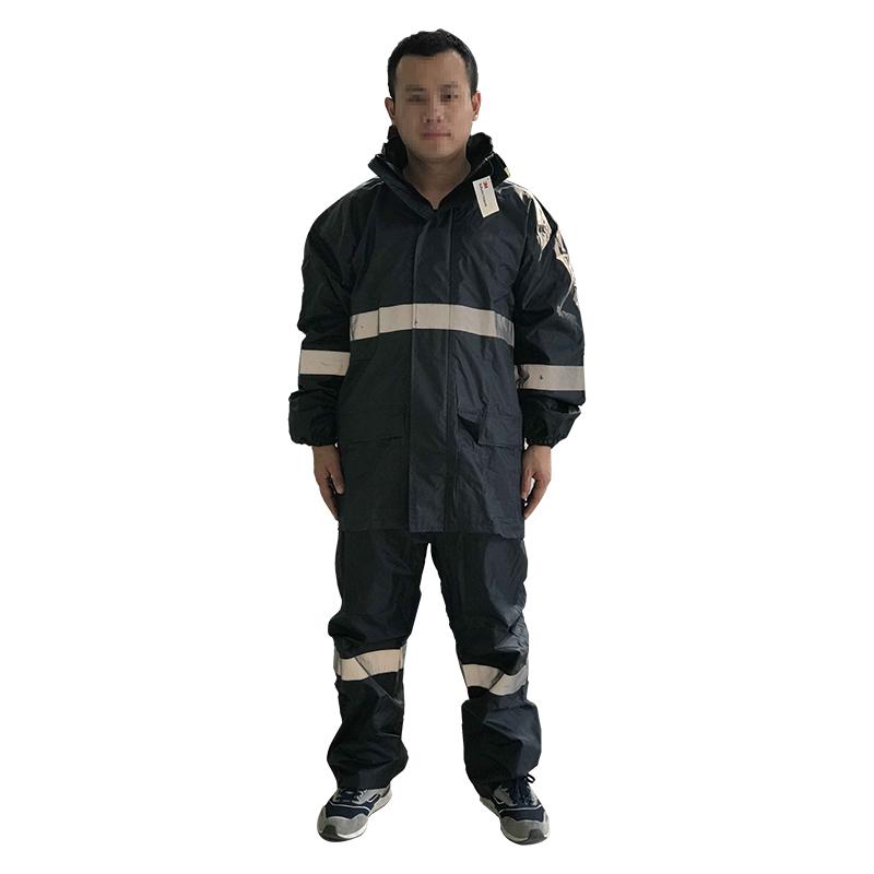3M R2911 藏青色PVC防水安全警示服