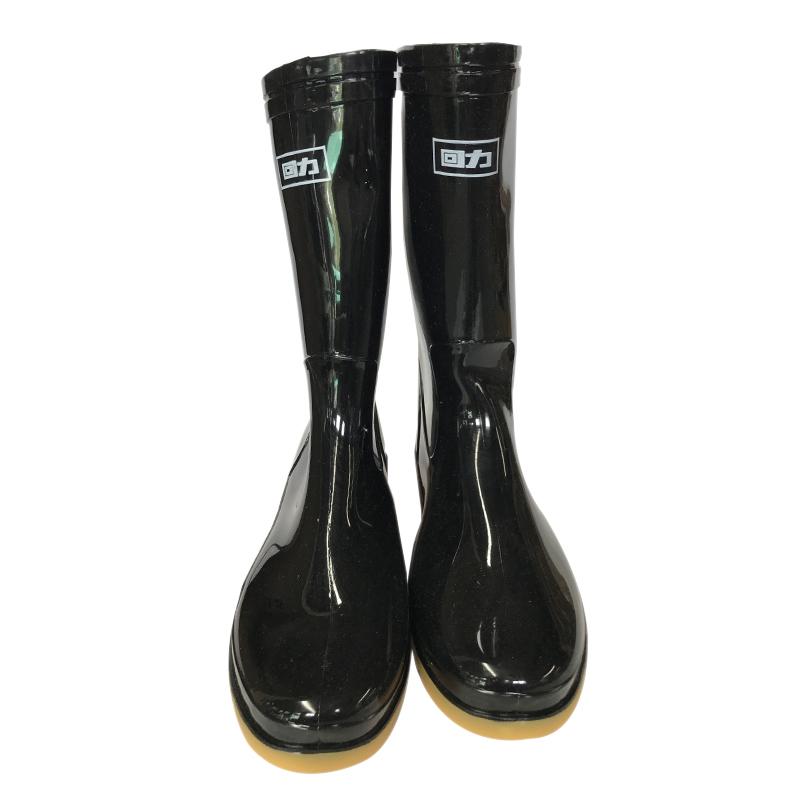 回力807中筒黑色雨靴 36