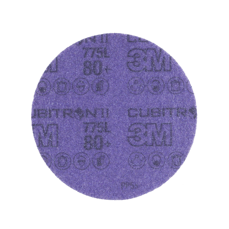 3M 775L 180+无孔抛光砂轮片背绒砂碟片150mm
