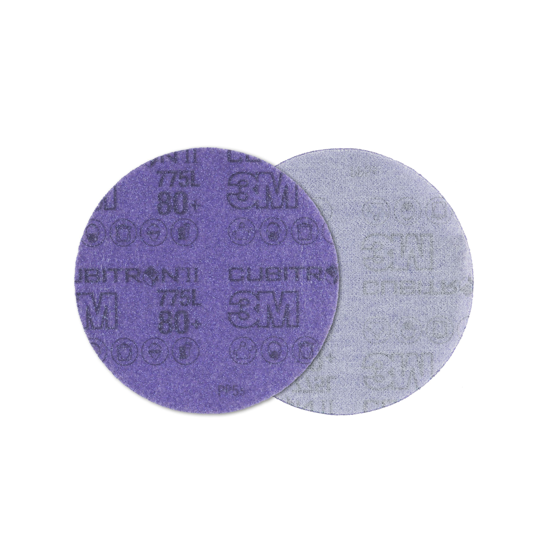3M 775L 220+无孔抛光砂轮片背绒砂碟片150mm