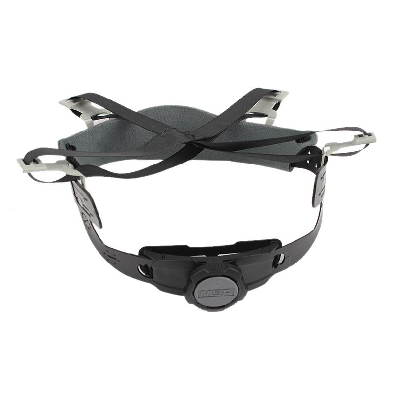 MSA/梅思安10180494超爱戴帽衬灰色针织布吸汗带尼龙顶带用于ABS 帽壳
