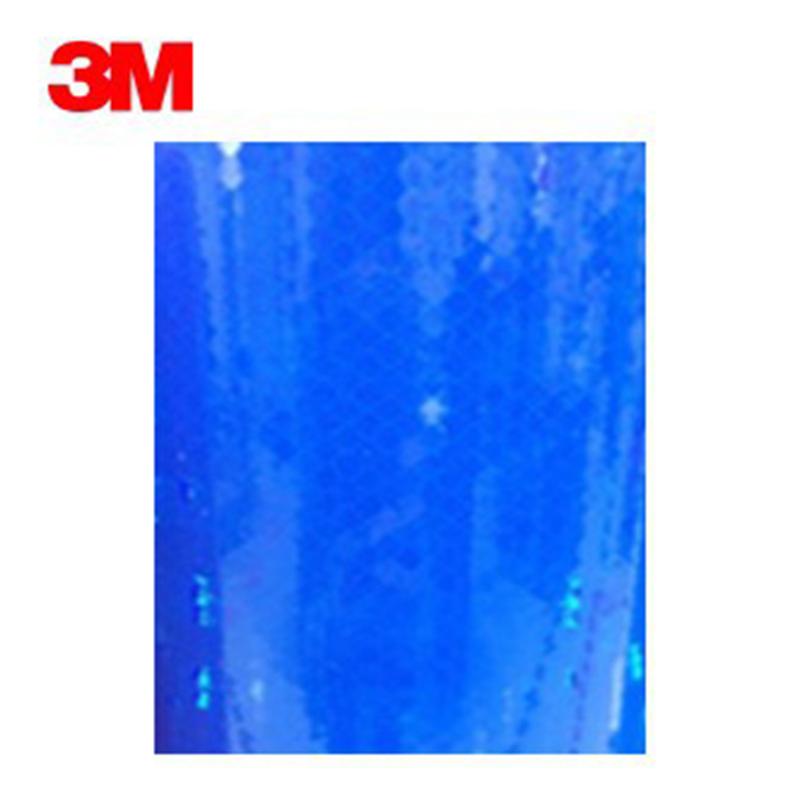 3M 3885棱镜高强级反光膜 蓝色 48英寸X50yds