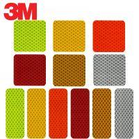 3M 钻石级万能磁力贴-长型钻石级荧光黄绿色...