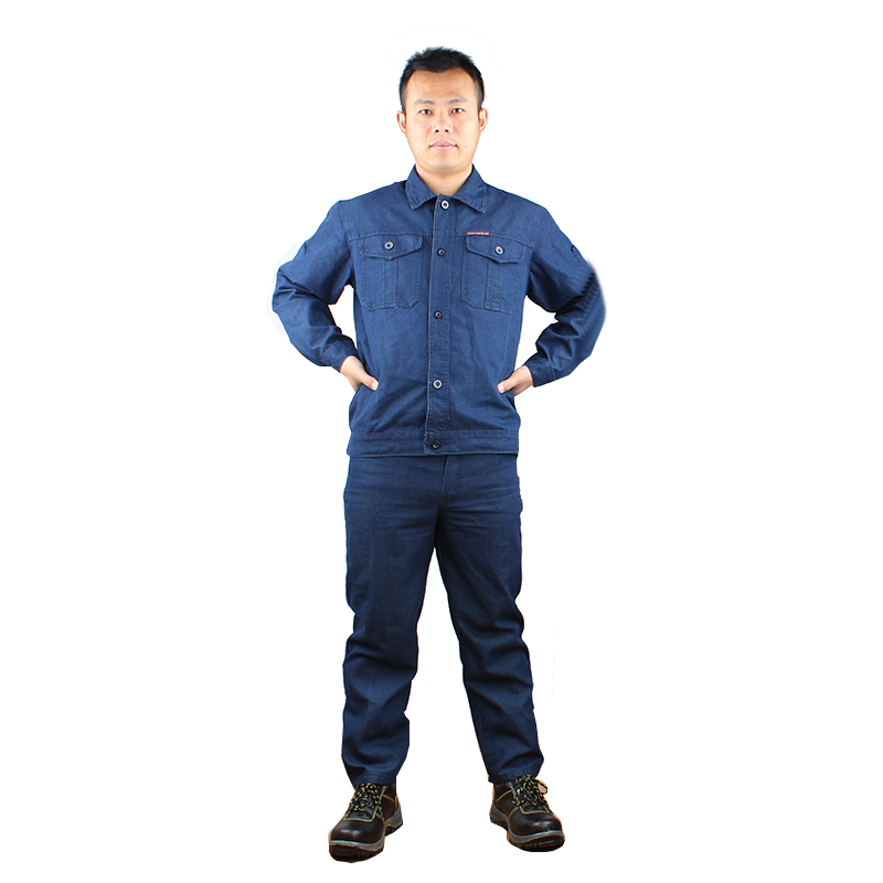 百劳汇110-023夏季长袖水洗牛仔服