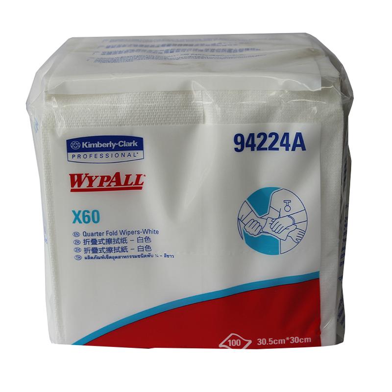 金佰利 94224A WYPALL*X60全能型擦拭布(折叠式)