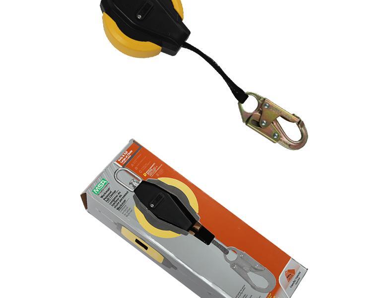 MSA/梅思安 10093354沃克曼速差防坠器(3.6m尼龙织带)