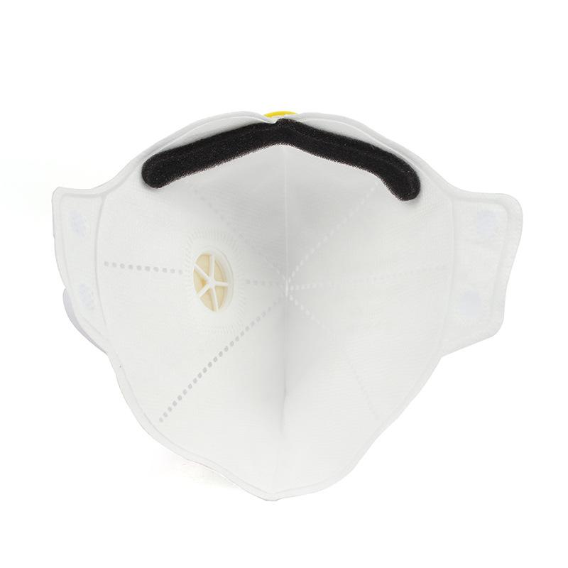 霍尼韦尔H1005590V H901V KN95 白色 头带式 带阀折叠式口罩
