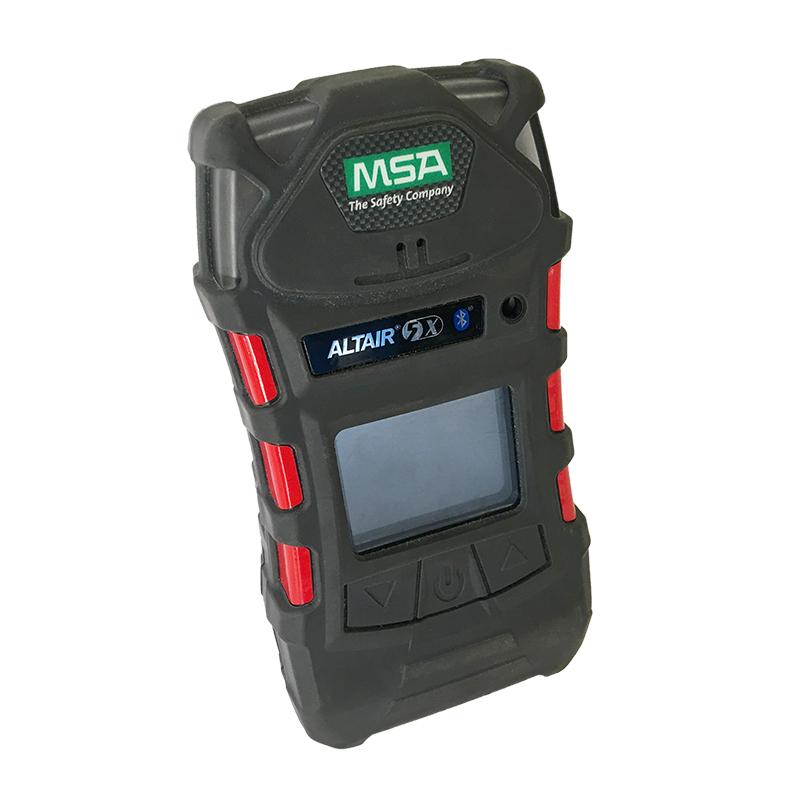 梅思安10129523天鹰5X便携式多种气体检测仪(LEL/NH3/泵/单色屏)