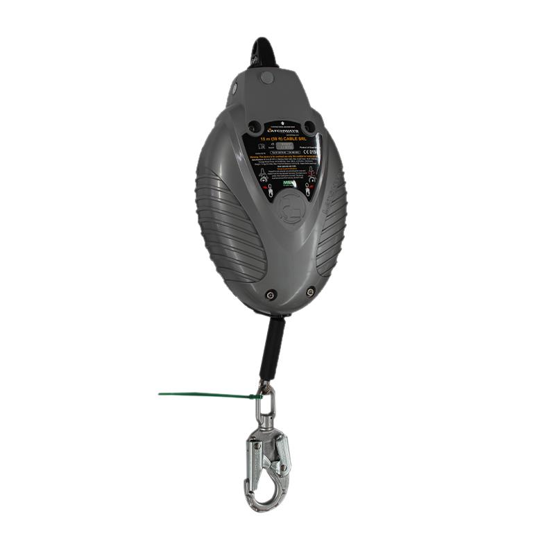 梅思安 62215-00UK 标准型速差自控器 15米长 不锈钢钢缆