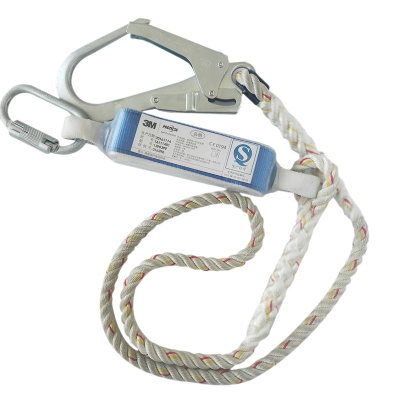 3M凯比特1390399 FIRST单钩减震安全绳