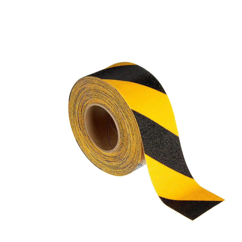 3M 613黄黑一般平面安全防滑贴 2英寸X60英尺