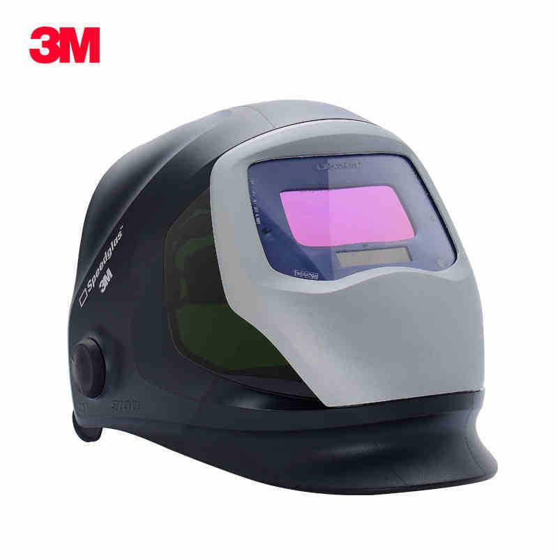 3M 9100v自动变光焊接面罩(有边窗)封面