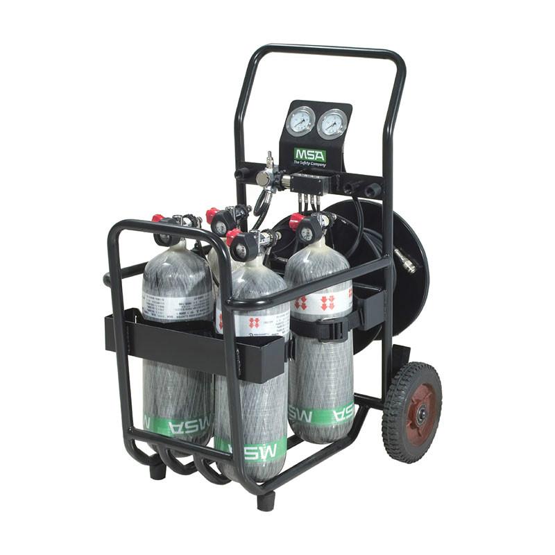 梅思安 10127387 车载式移动供气装置 2*6.8L 2*逃生呼吸器
