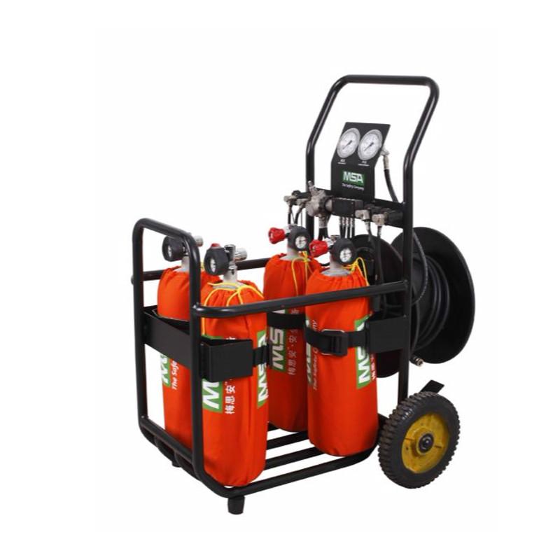 梅思安 10126611 车载式移动供气装置 4*6.8L 2*逃生呼吸器