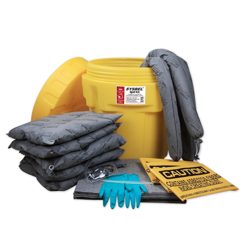 SYSBEL/西斯贝尔 SYK200 20加仑泄漏应急处理桶套装(通用)