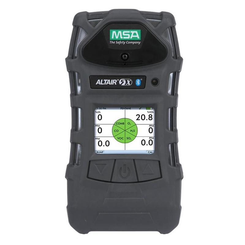 梅思安 10176593天鹰5X多种气体检测仪 (定制 检测LEL/O2/NO2/NH3/泵/彩屏)