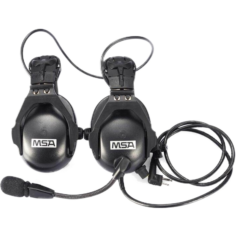 MSA/梅思安 SOR45522 有线型电子防噪音智能耳罩(头盔式)