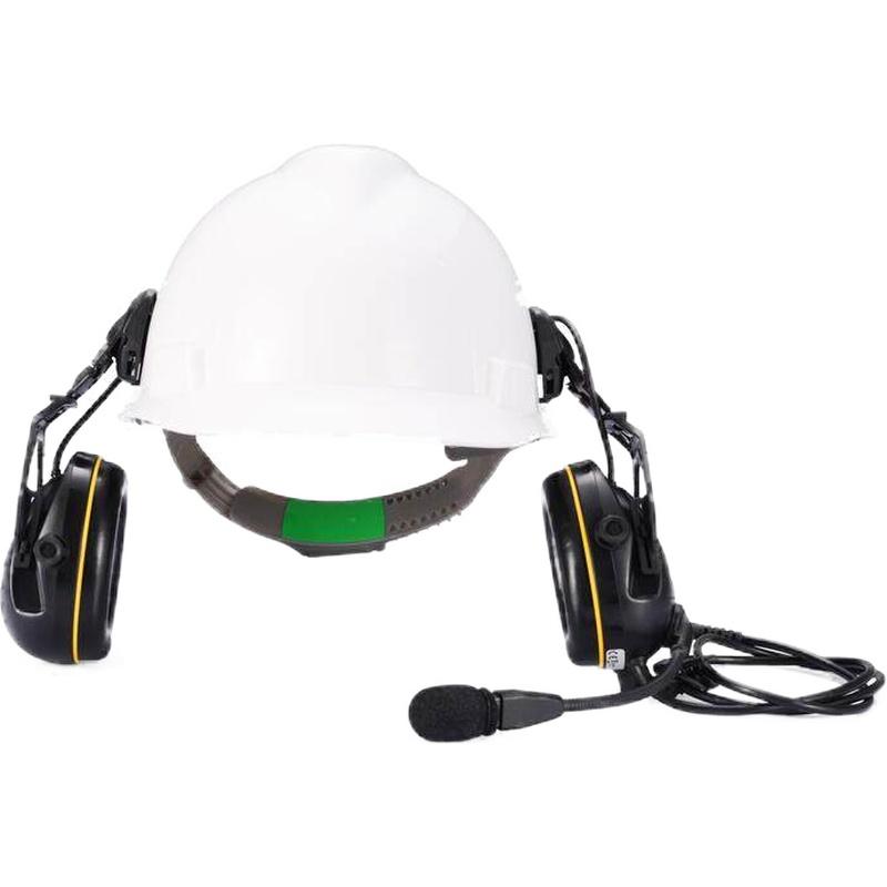 梅思安 SOR45522 有线型电子防噪音智能耳罩(头盔式)