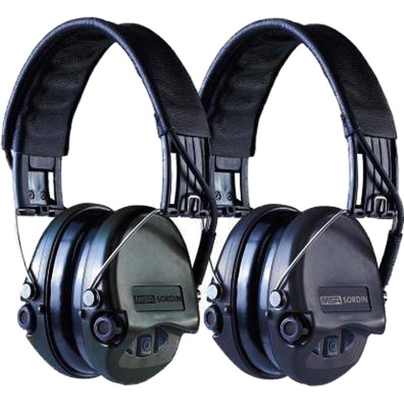 梅思安 SOR75301 超威型电子防噪音基本型AUX耳罩