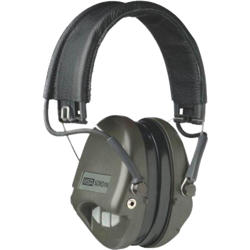 MSA/梅思安 SOR75301 超威型电子防噪音基本型AUX耳罩
