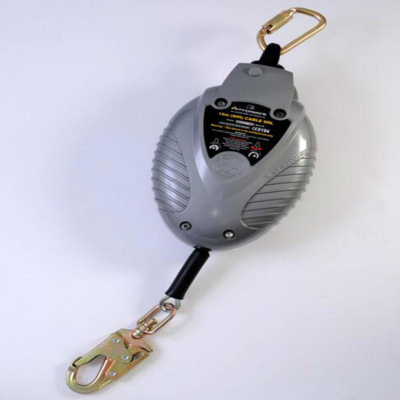 梅思安62407-00UK 标准型速差器(7米镀锌钢缆)