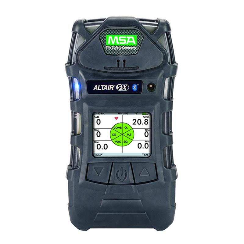 MSA/梅思安10172348 天鹰5X(LEL/O2/CO/H2S/VOC/彩屏)气体检测仪 *