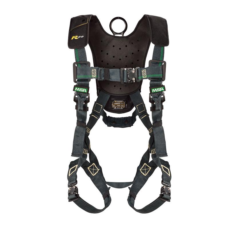 梅思安68203-00 逃生自救装置 PRD RH3 20m 长缓降功能 内置 S 号安全带 工作定位腰带