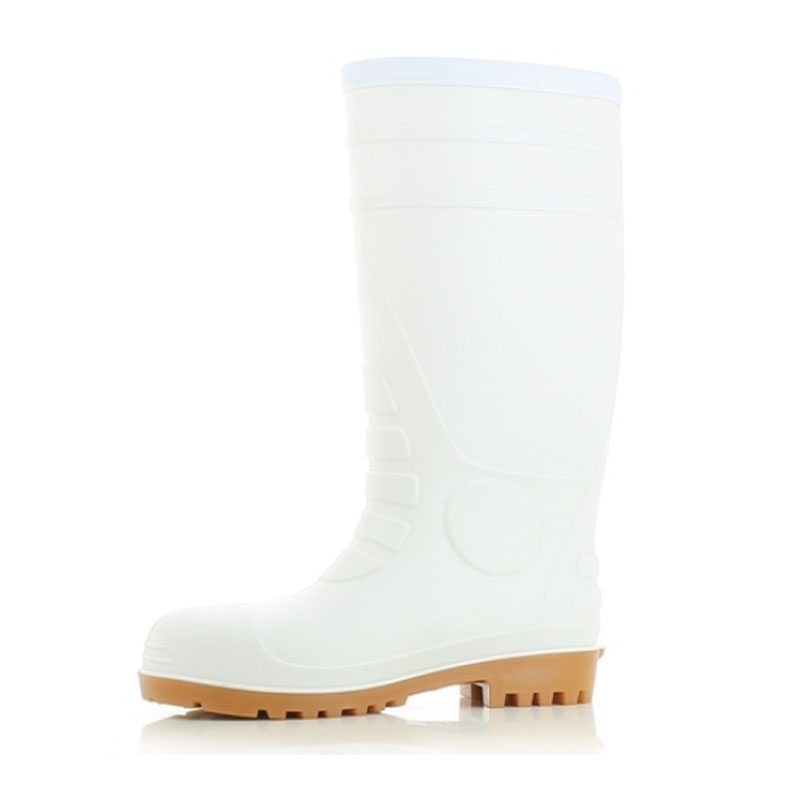 葛天那SAFETY JOGGER POSEIDON白色PVC防砸靴
