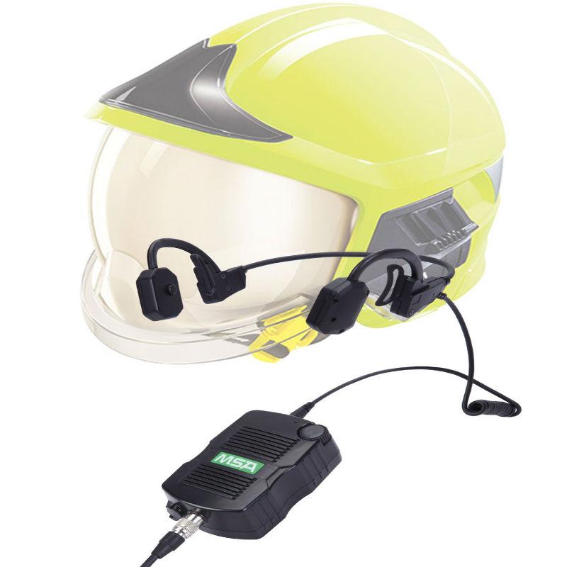 梅思安10178119 EC10 捷易通通讯系统耳挂式 含海能达H3(U)连接线(不含对讲机)