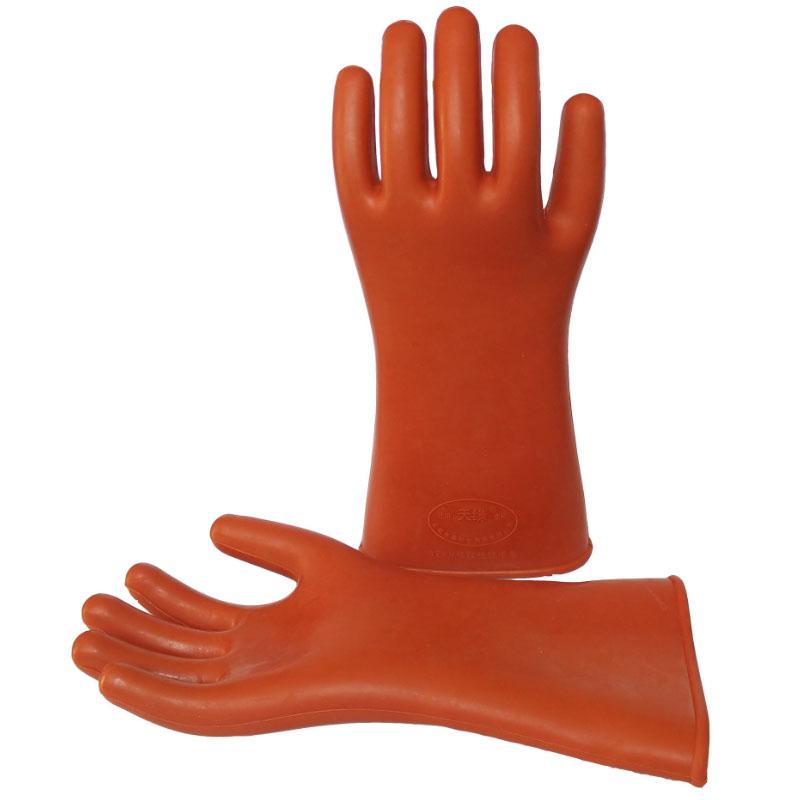 天缘12KV橡胶绝缘手套