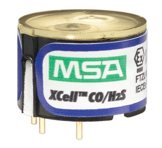 MSA/梅思安 10106725 XCELL一氧化碳/硫化氢(CO/H2S)双毒气传感器更换套件
