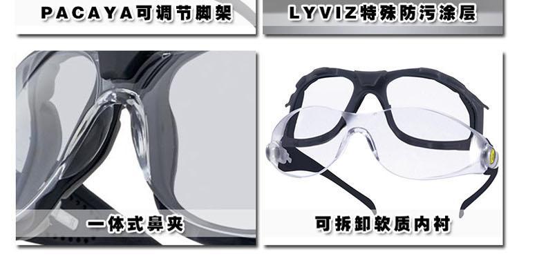 代尔塔101133 PACAYA LYVIZ技术防污眼镜