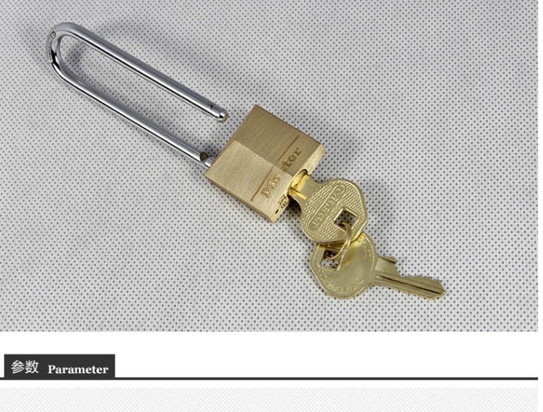 玛斯特 130MCNDLJ 实心黄铜挂锁