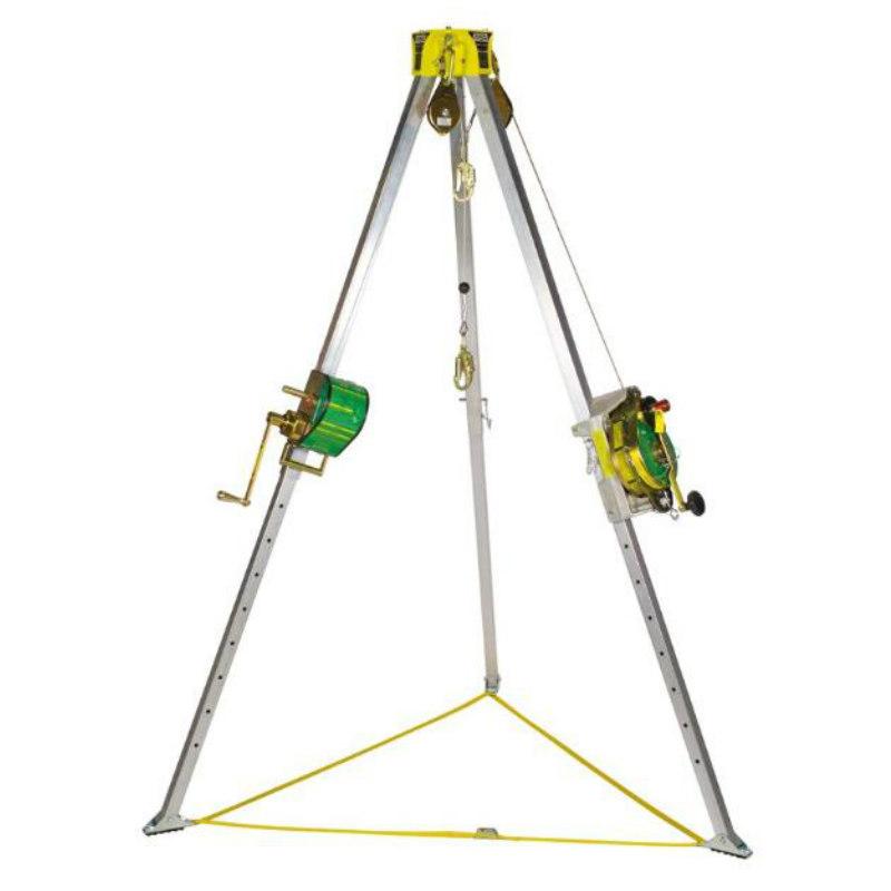 MSA/梅思安10153579 卷扬机带三角架 15米不锈钢丝绳 中国版
